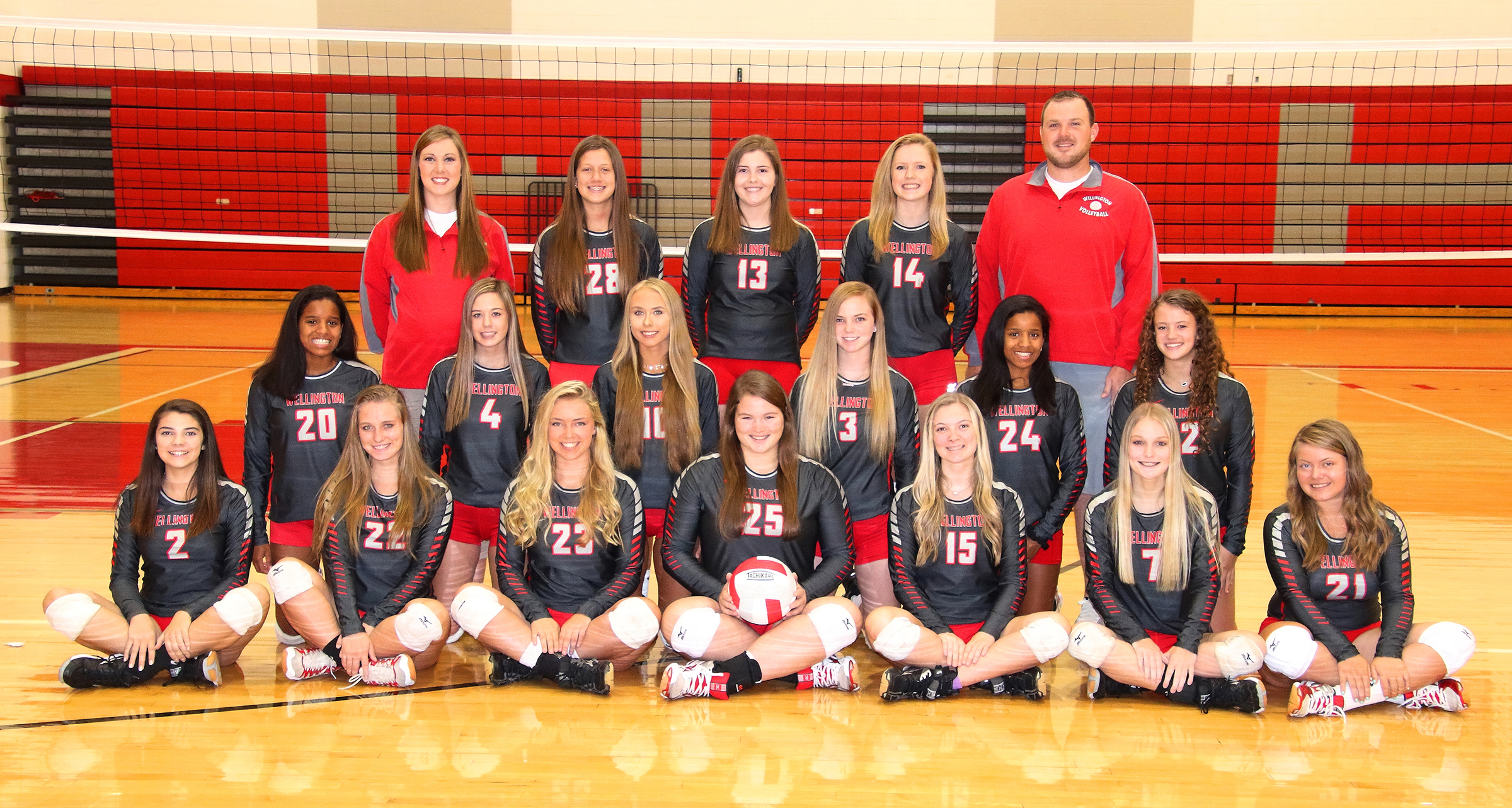 WHS Volleyball 2018 Team