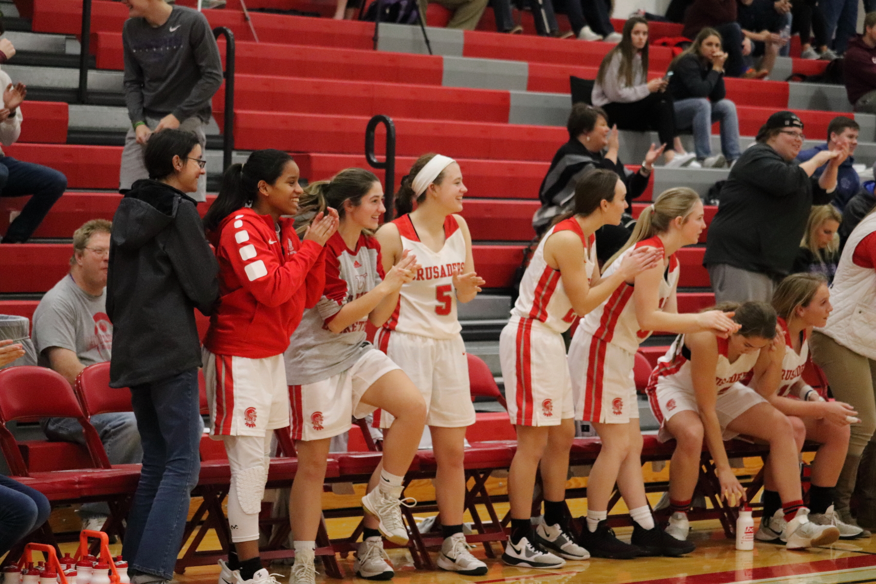 Lady Crusader Basketball Downs Ranked Circle HS