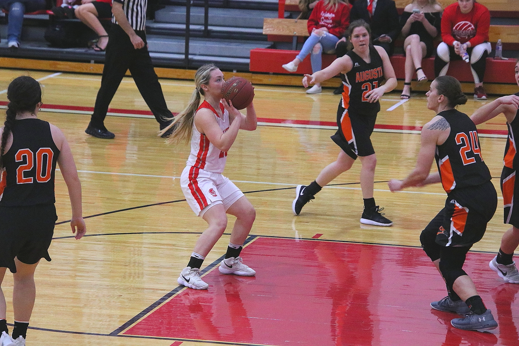 Lady Crusader Taylor Meyer vs Augusta