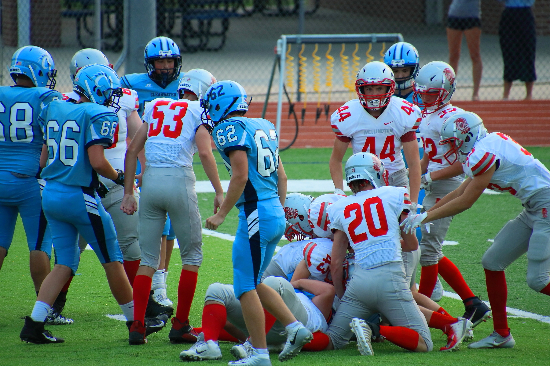JV Football @ Clearwater 090720