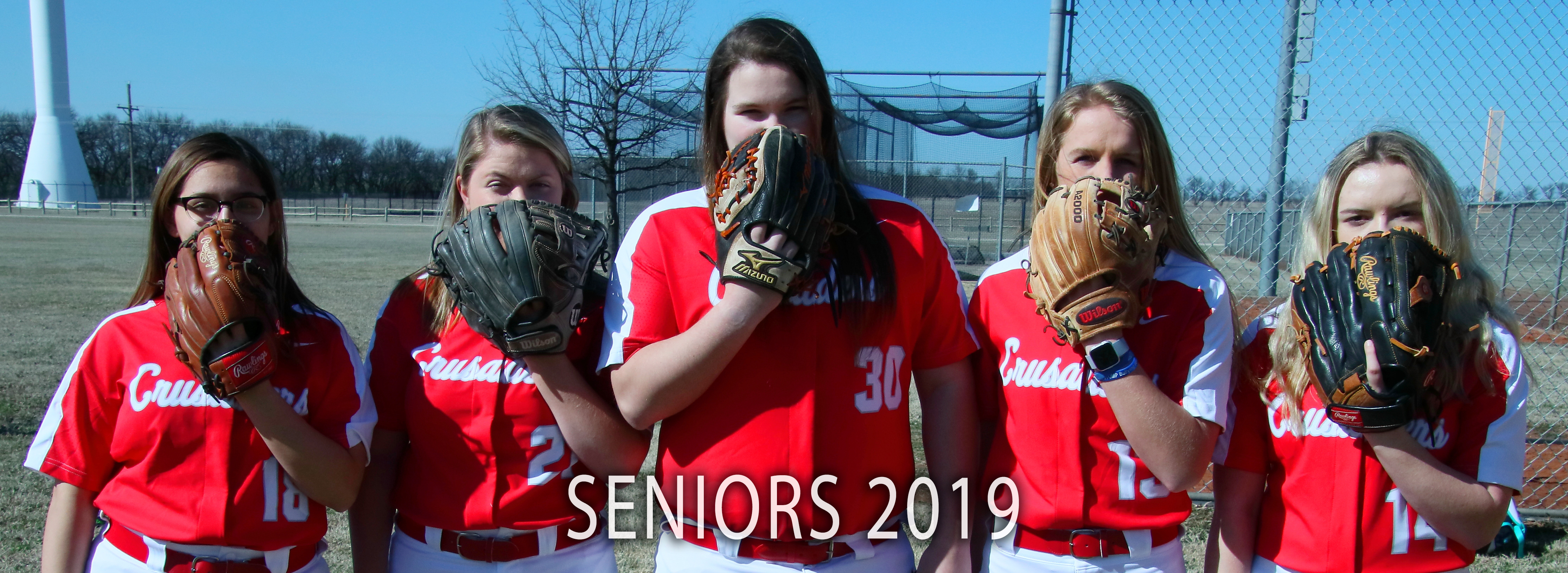 Lady Crusader Softball Seniors 2019
