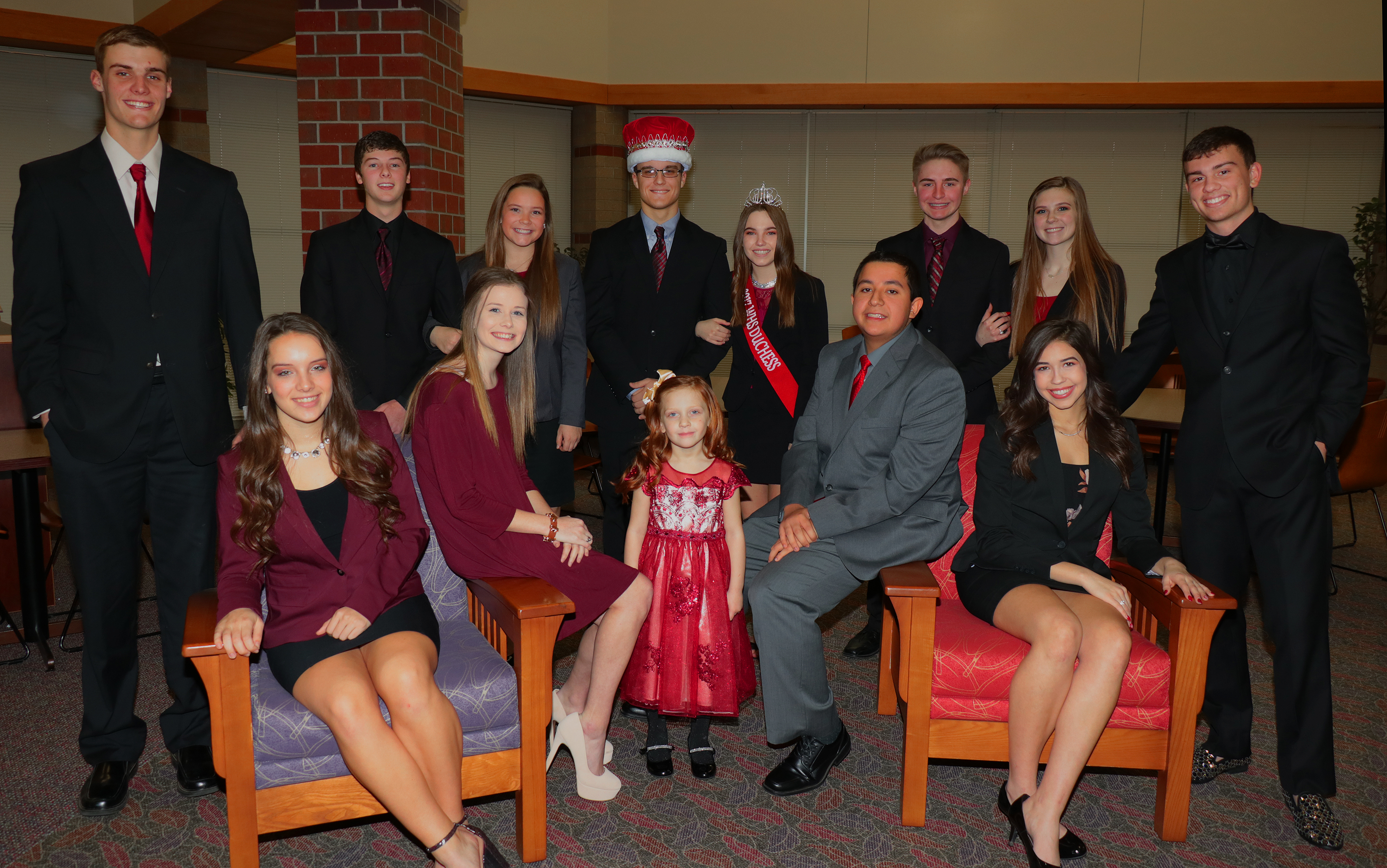 Duke Logan and his royal court