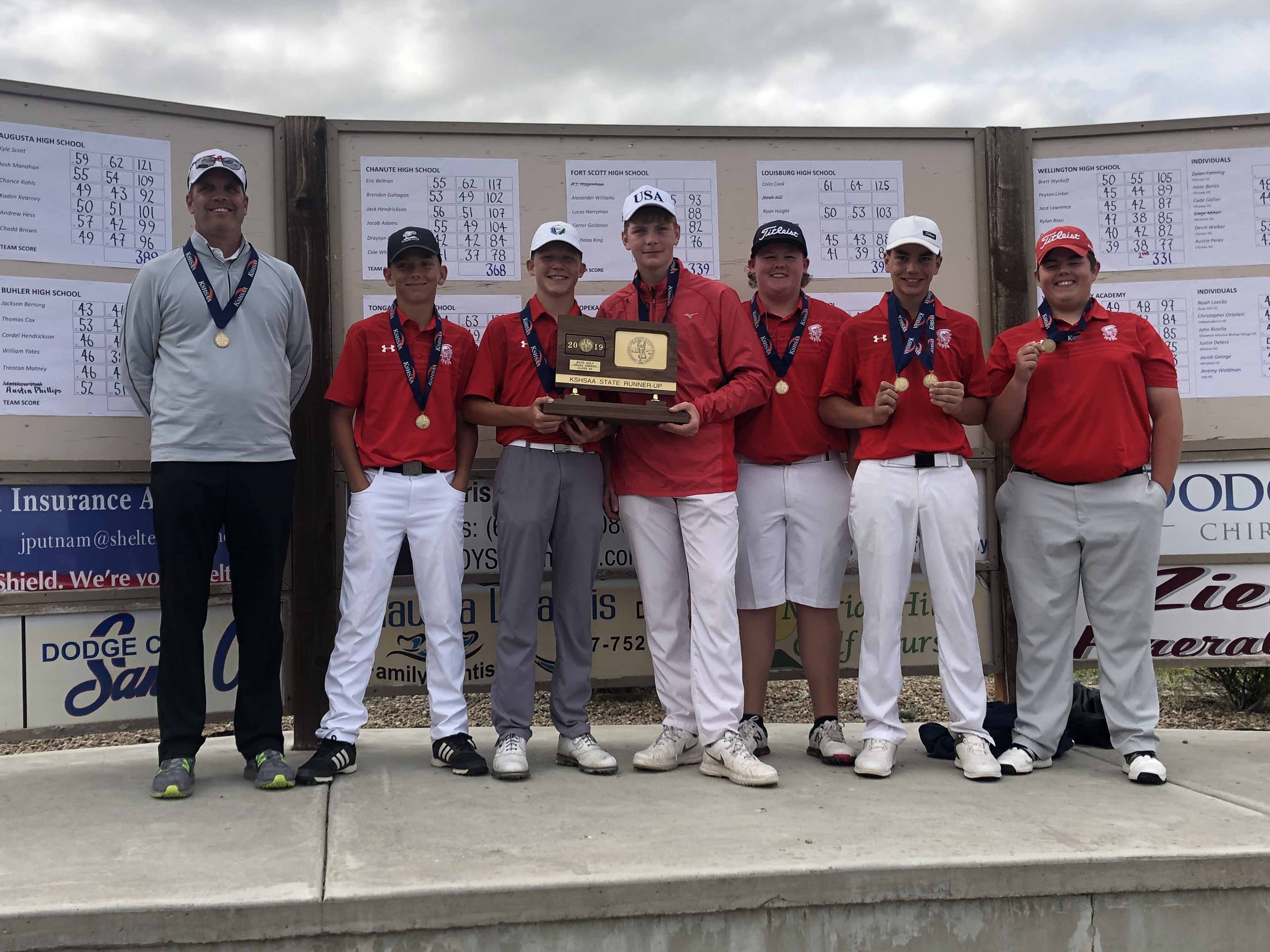 State 4A Golf 2019 Runners Up