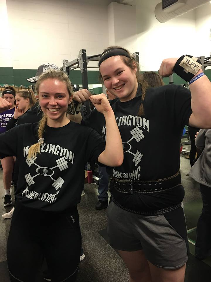 Taylor & Brooke STATE 4A Powerlifting