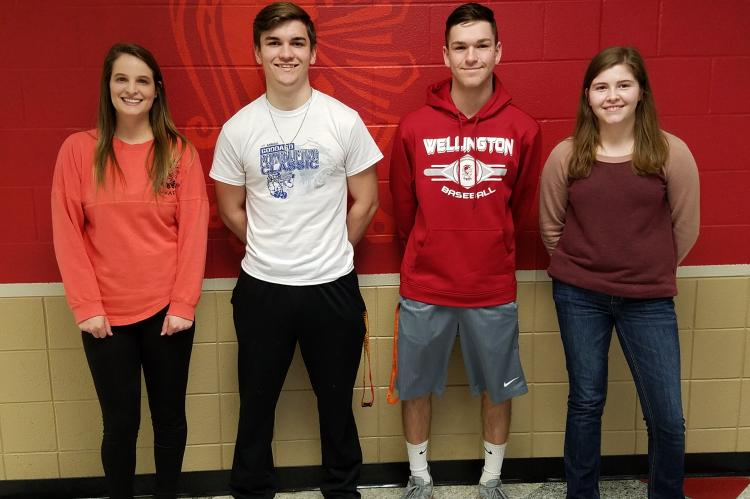 WHS Students of the Month February 2018
