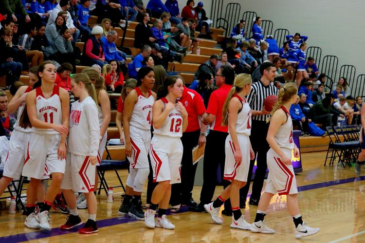 Lady Crusaders vs Coffeyville 030118