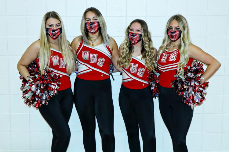 WHS Crimson Dancers SENIORS
