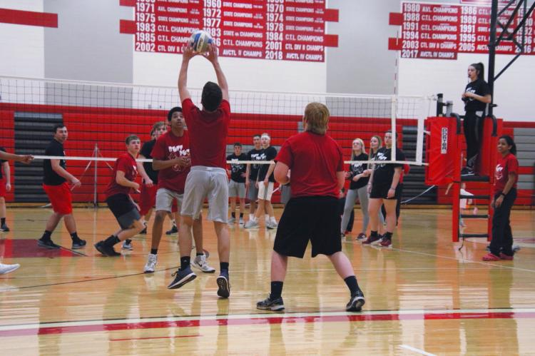Buff Puff Volleyball 2019