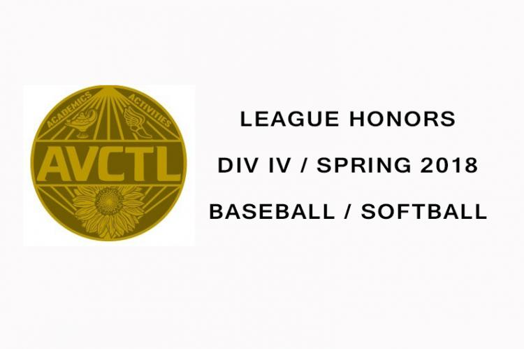 League Honors Spring 2018