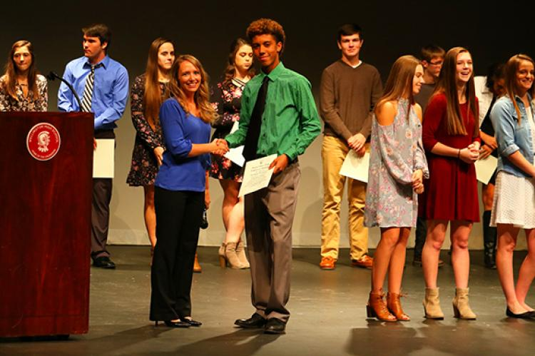 NHS Induction Ceremony @ WHS