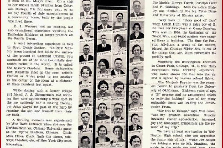 WHS Class of 1933