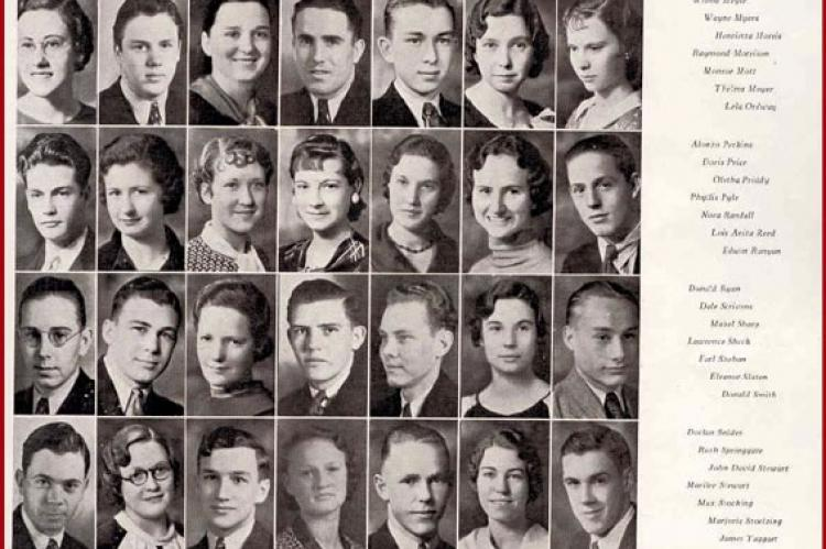 WHS Class of 1934