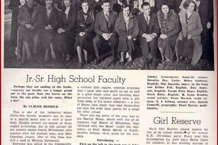 WHS Class of 1937