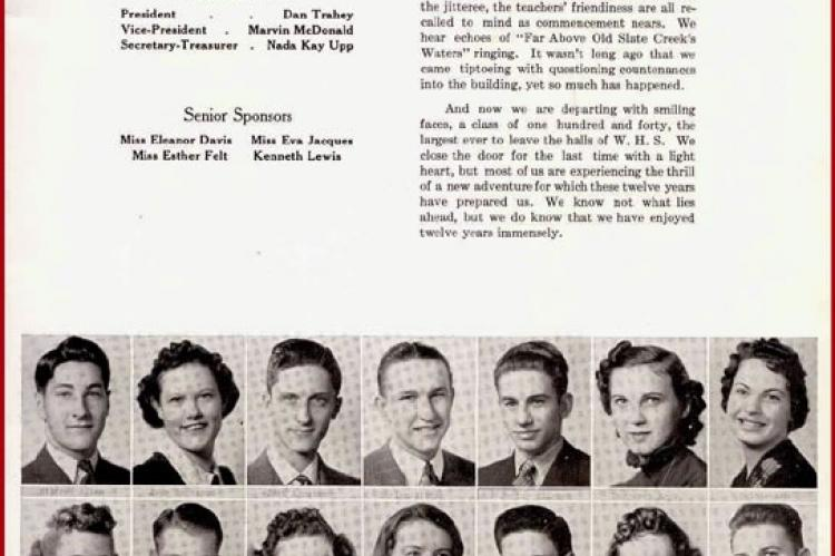 WHS Class of 1939