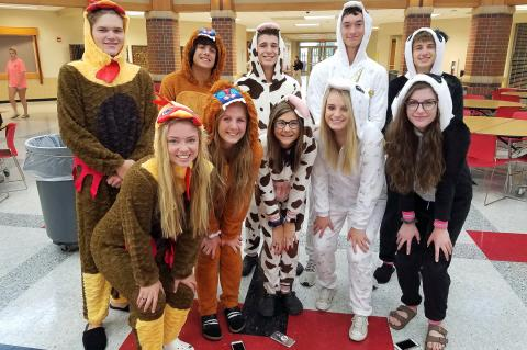 Spirit Week Monday - PJ Day