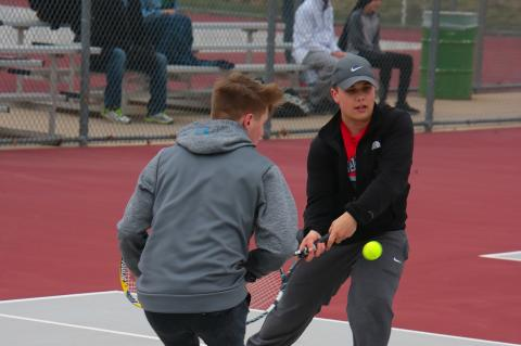 James Hinman & Jaden Adams #1 Doubles