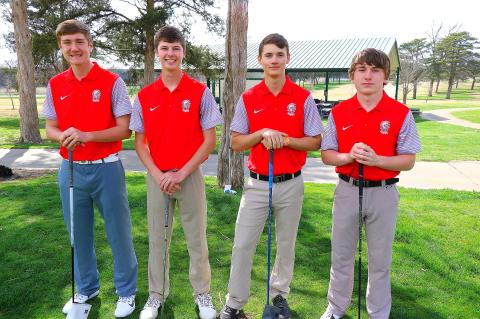 WHS Boys Golf 2018 SENIORS
