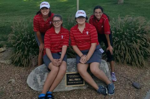 Girls Golf Team - 1st Tournament