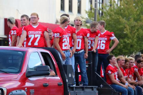 2018 Homecoming Parade & Pep Rally