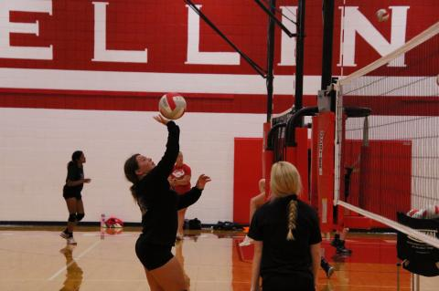 An image from WHS Volleyball Camp 071719