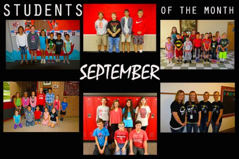 Sep Students of Month 2017