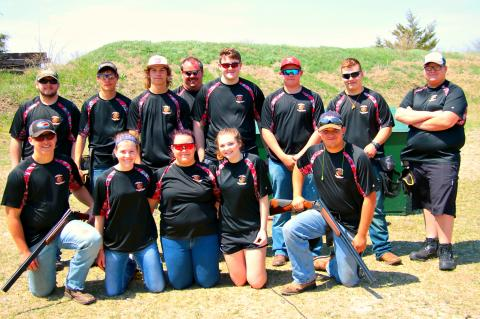 WHS Clay Target Team Spring 2018