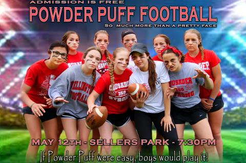 Powder Puff Football Game 051218