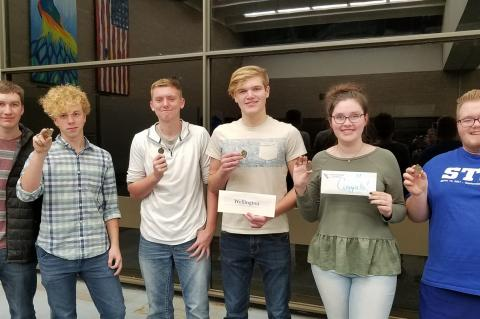 WHS Scholars Bowl Team