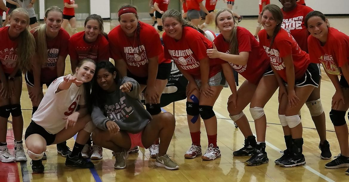 WHS Volleyball Camp @ WHS 071018