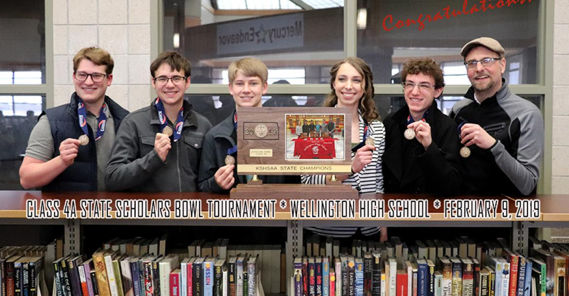 Topeka Hayden State 4A Scholars Bowl Champions 2019
