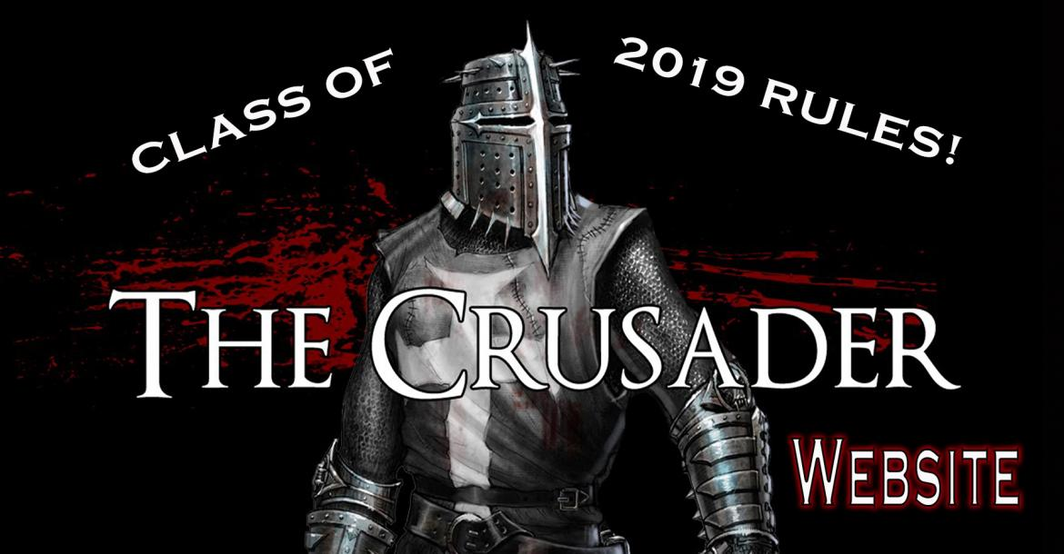 Crusader Website 2019