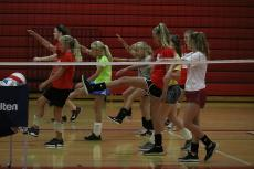 WMS Volleyball Camp @ WHS 071018