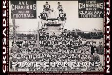 1969 WHS State Football Champions