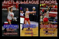 AVCTL League Volleyball Honors 2017