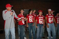 Pep Rally Sept 2006