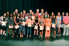28 Inductees WHS NHS Ceremony
