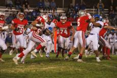 trace rusk 151 yds rushing