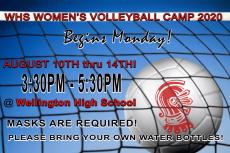 WHS Volleyball Camp 2020