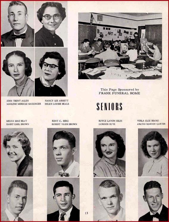 Class of 1954 (WHS) | www wellington cc